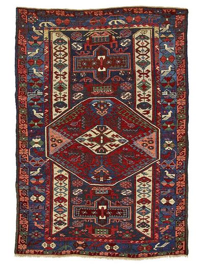 Derbend antique Russe 162 x 105 - 12.500.- Net 8.700.-