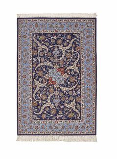 Isfahan extra fine, wool and silk - Carpet Iran - 169 x 112 Net 10,800