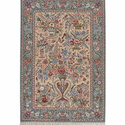 Isfahan Extra fin laine et soie-Tapis d'Iran-166x115-11.660.-Net 7.500